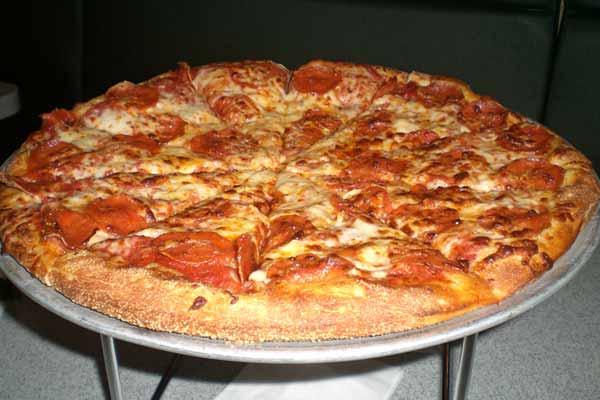 Grazianos pizza