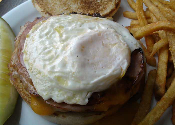 The Alibi - Breakfast Burger