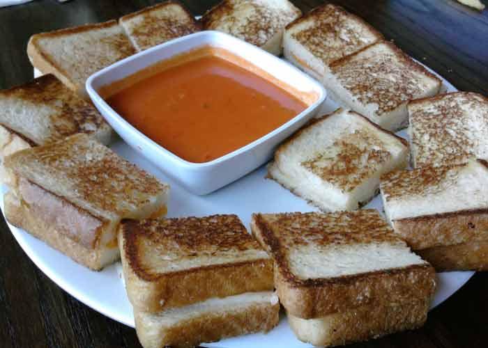 The Alibi - Mini Grilled Cheese Sandwiches