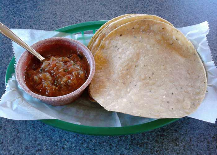 Super Mex chips and salsa