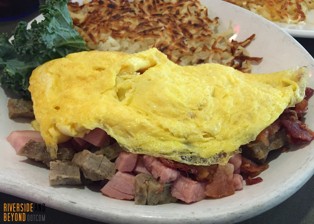 Three Meat Omelette