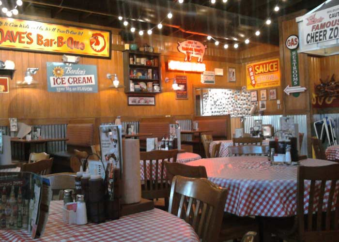4. Inside Famous Dave's