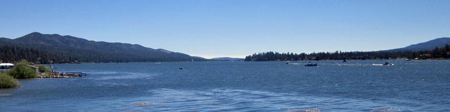 Fishing at Big Bear Lake