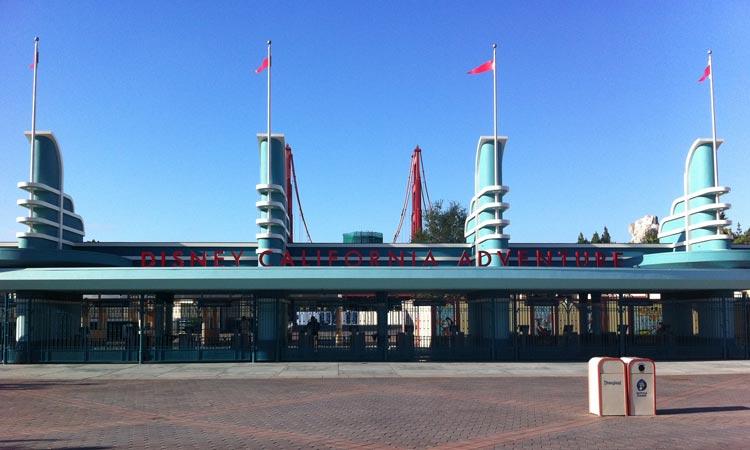 Disney California Adventure – New Entrance