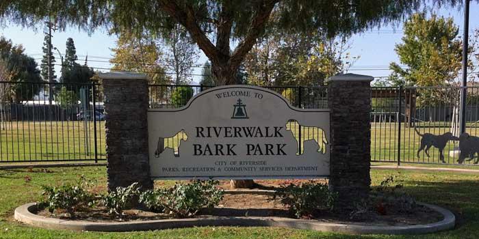 Riverwalk Bark Park, Riverside