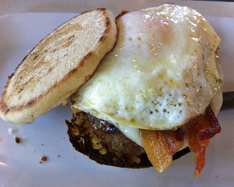 The Counter - Egg Burger