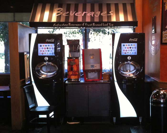 Fuddruckers - Coke Mix Machines