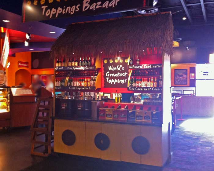 Fuddruckers - Toppings Bar