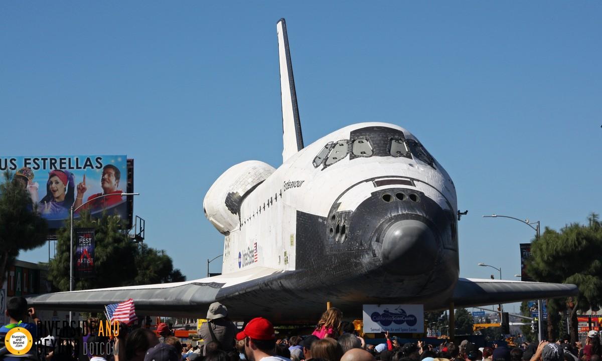 Space Shuttle Endeavour - Los Angeles