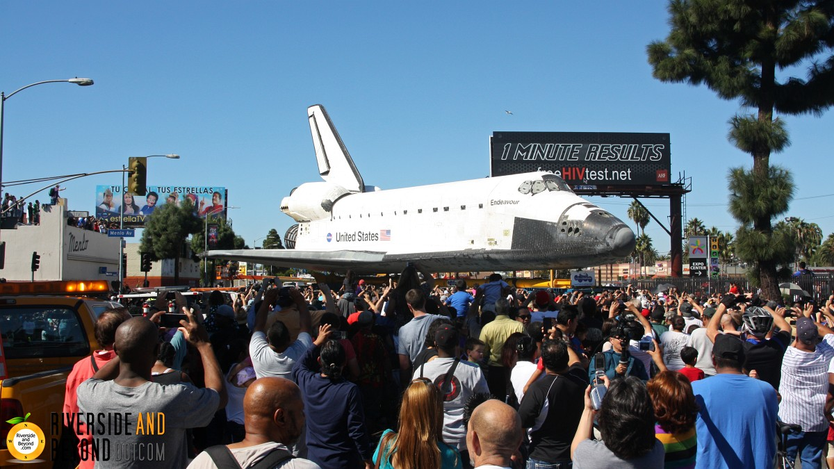 Space Shuttle Endeavour - Los Angeles