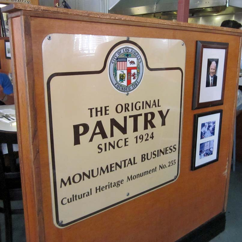 Pantry - Historical Marker
