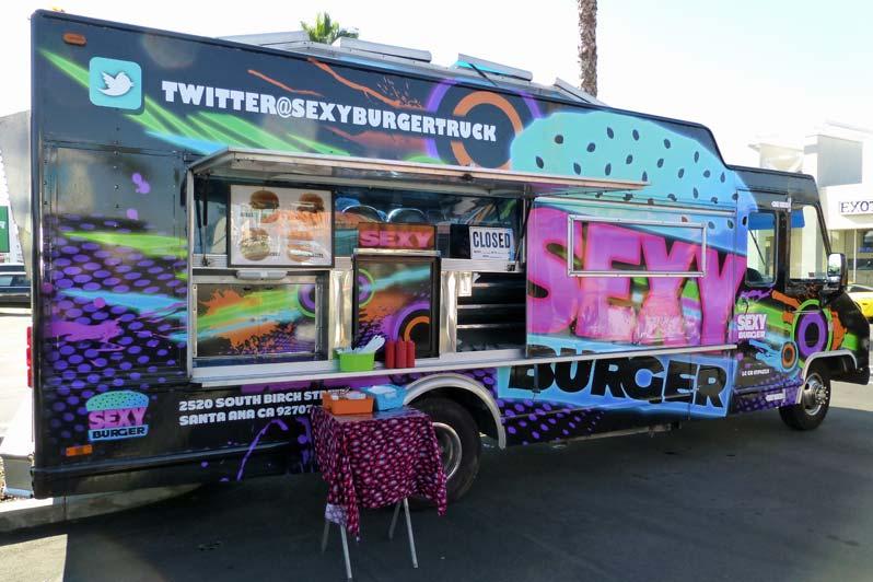 Sexy Burger Truck