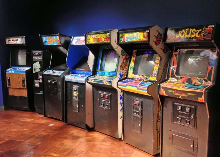More classic arcade games at the Starcade in Disneyland - Centipede, DigDug, Joust