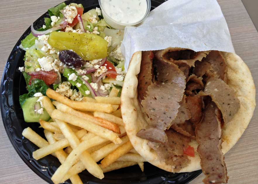 Greek Street Grill - Gyro Sandwich