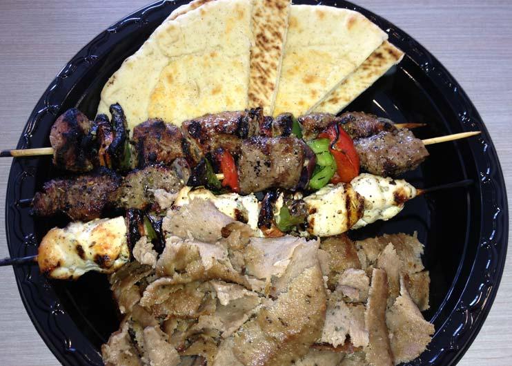 Greek Street Grill - Souvlaki