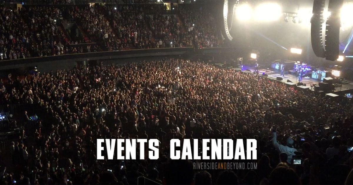 Events Calendar - Riverside And Beyond