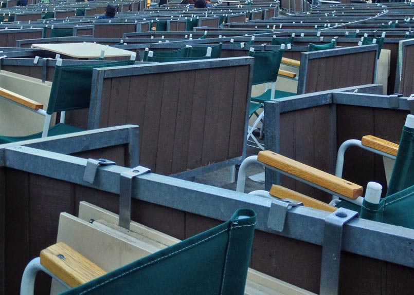 Hollywood Bowl Box Seating