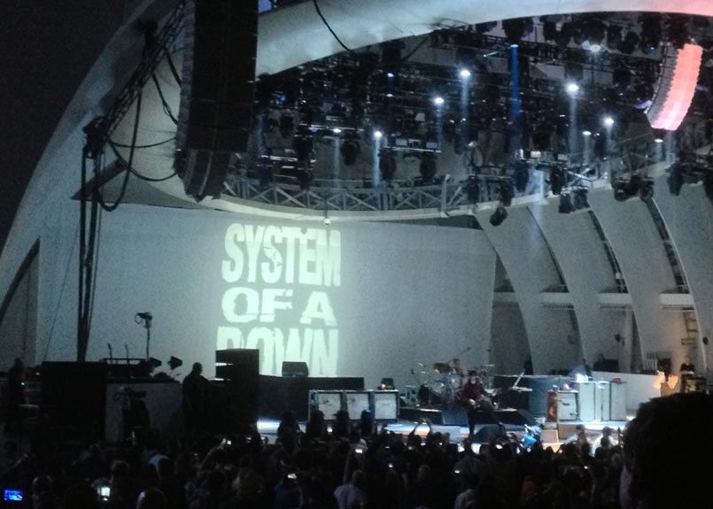 System of a Down - Hollywood Bowl, 07/29/13