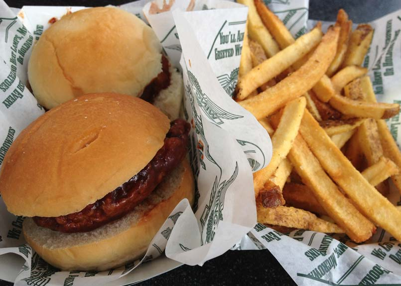 Wingstop Glider Sandwich