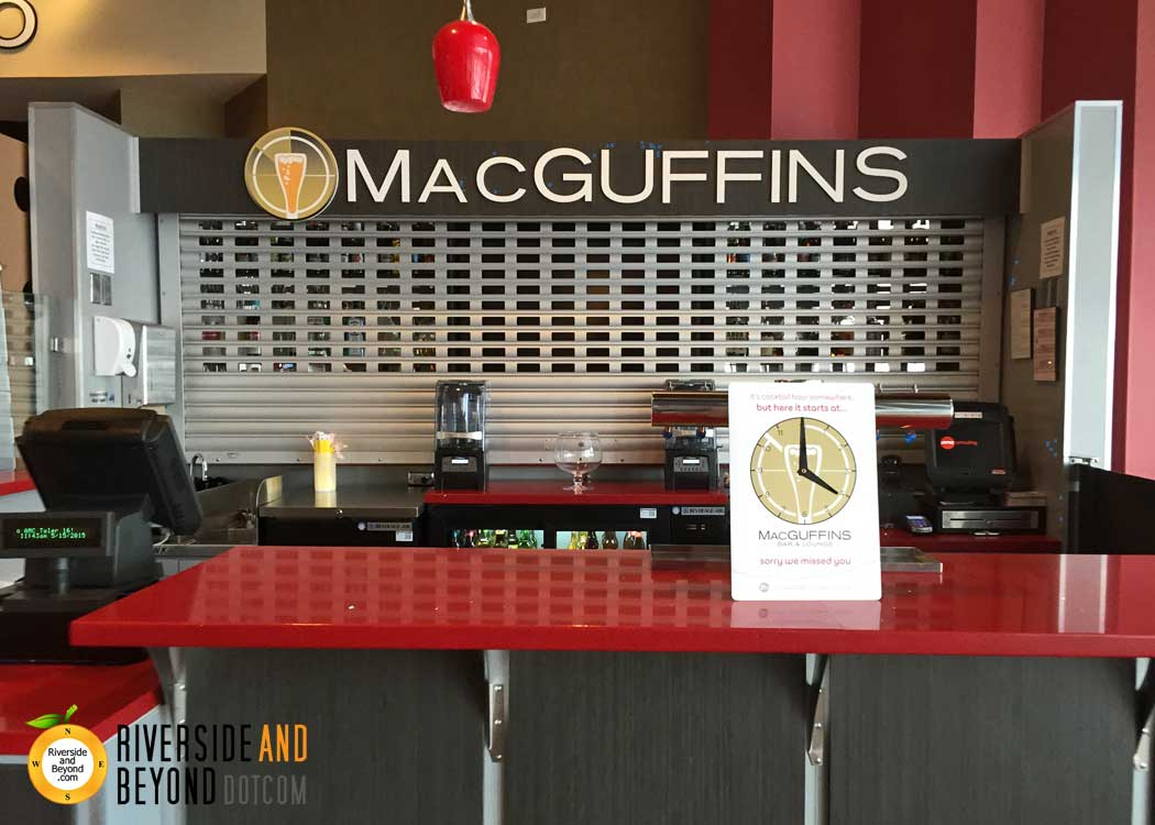 MacGuffins Bar & Lounge – AMC Tyler Galleria, Riverside