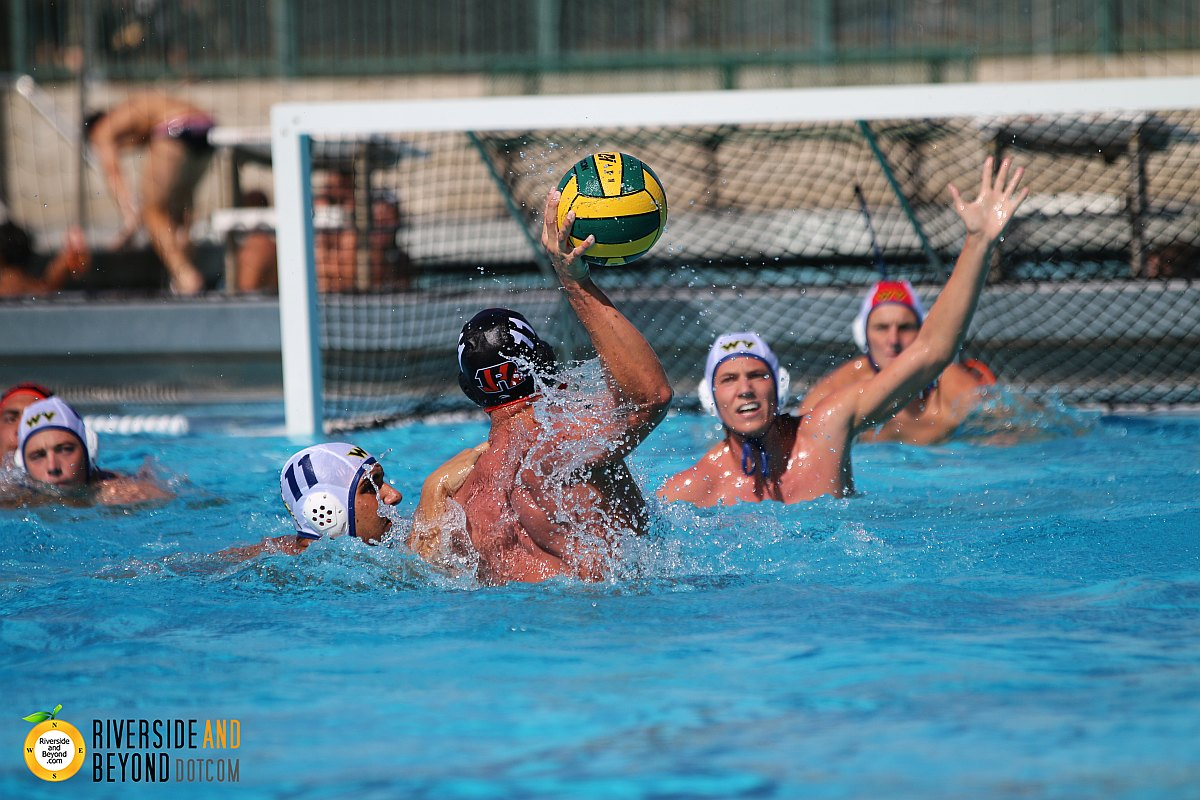 Men's Water Polo: RCC vs. West Valley - Oct 24, 2015