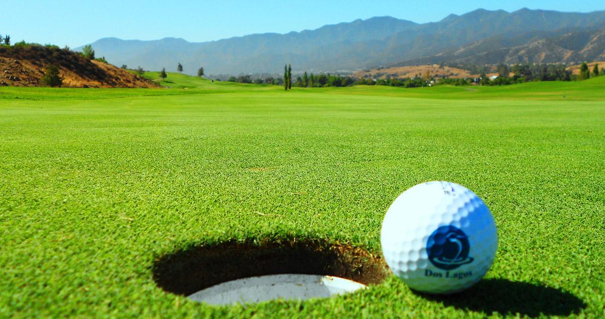 Dos Lagos Golf Ball
