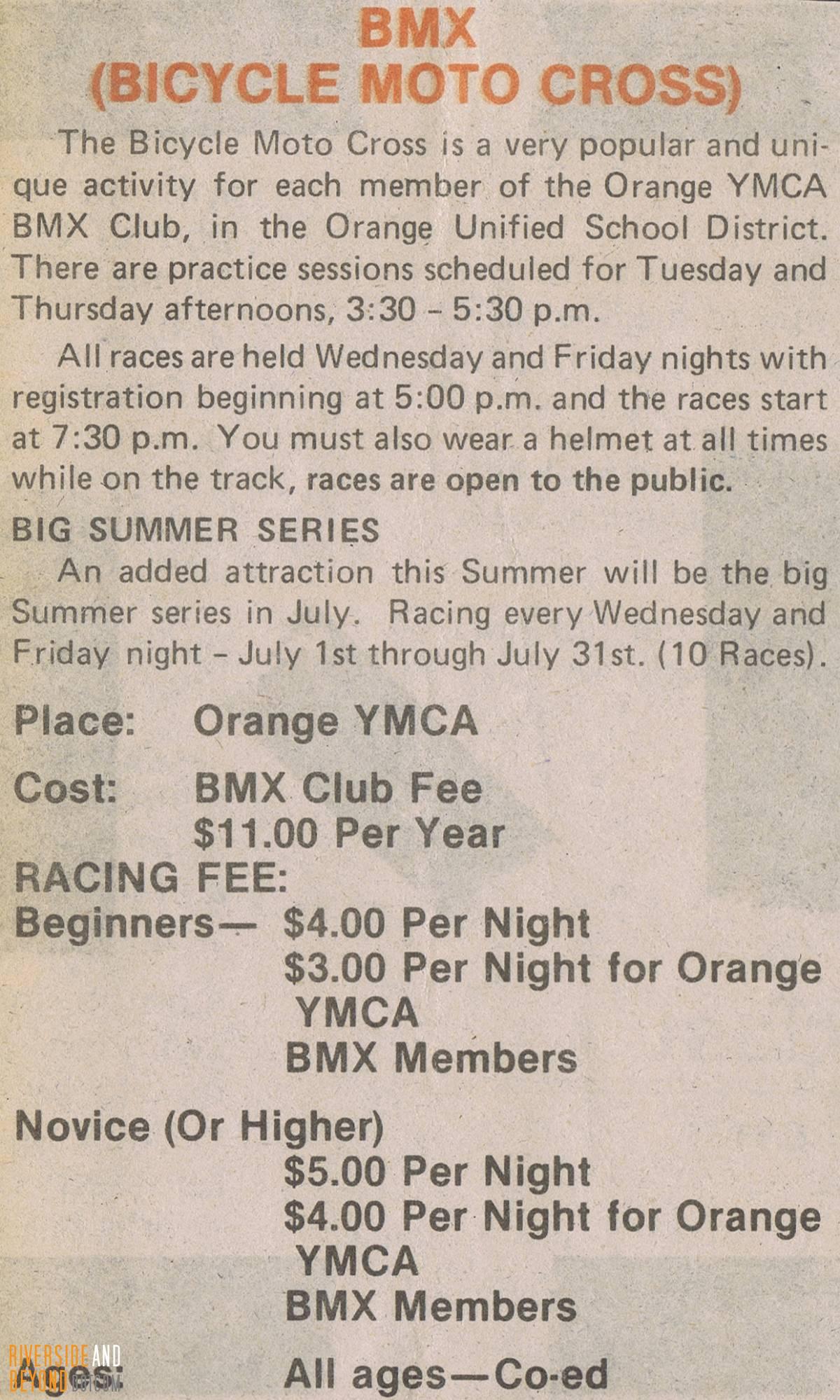 Orange Y Info - 1981