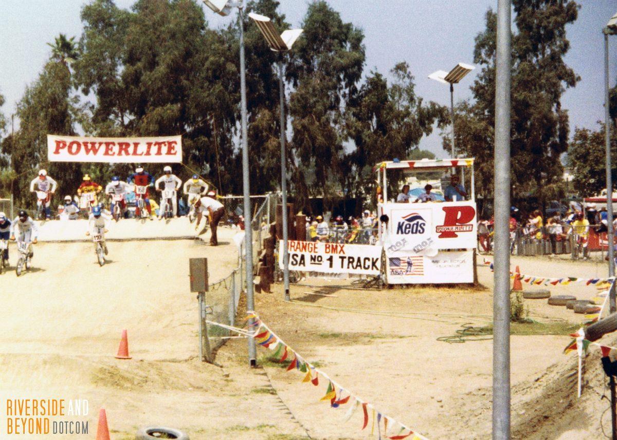 Orange Y BMX - 1982