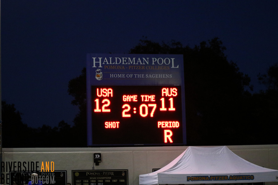 Men's Water Polo: USA vs. Australia, 05/20/16 at Pomona Pitzer College
