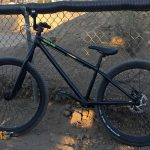 BMX: Identiti Rebate 1420 Forks on a Redline D26 – 20mm to 14mm Conversion