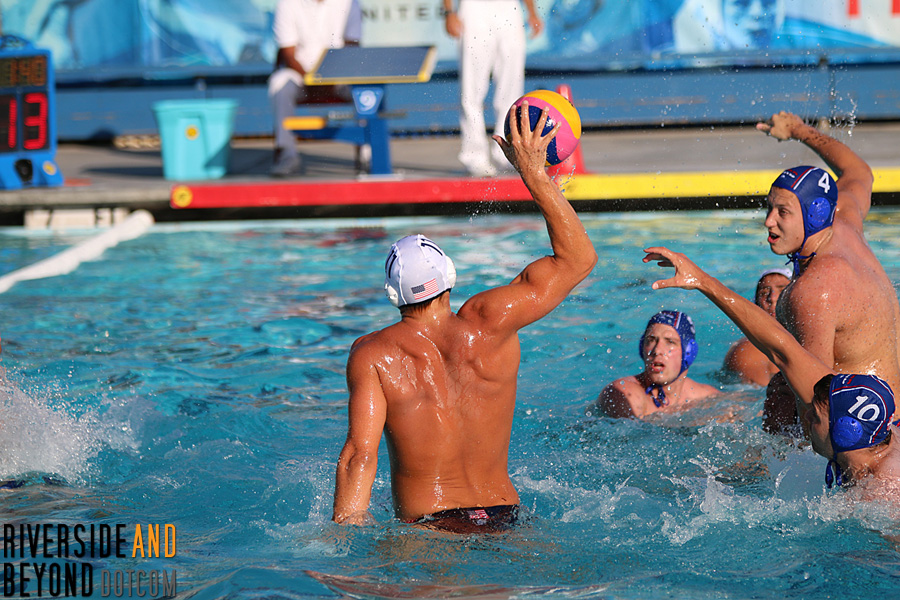 Men's Water Polo: USA vs. Serbia, 06/07/15 at El Toro HS