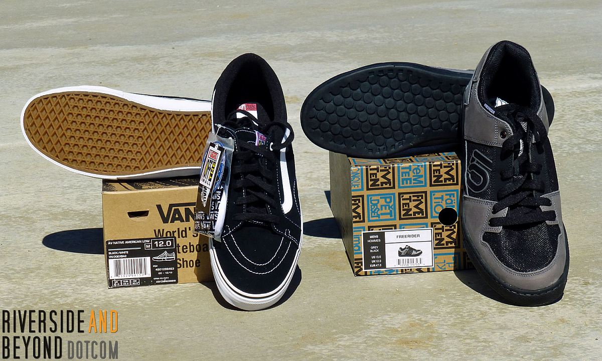 Vans AV American Native and Five Ten Freerider