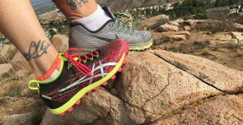 Trying out new trail running shoes