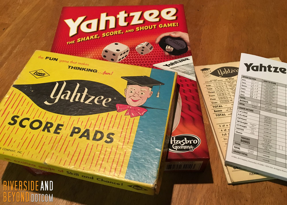 Yahtzee - Old and New