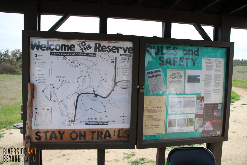 Santa Rosa Plateau - Hidden Valley Trail Head
