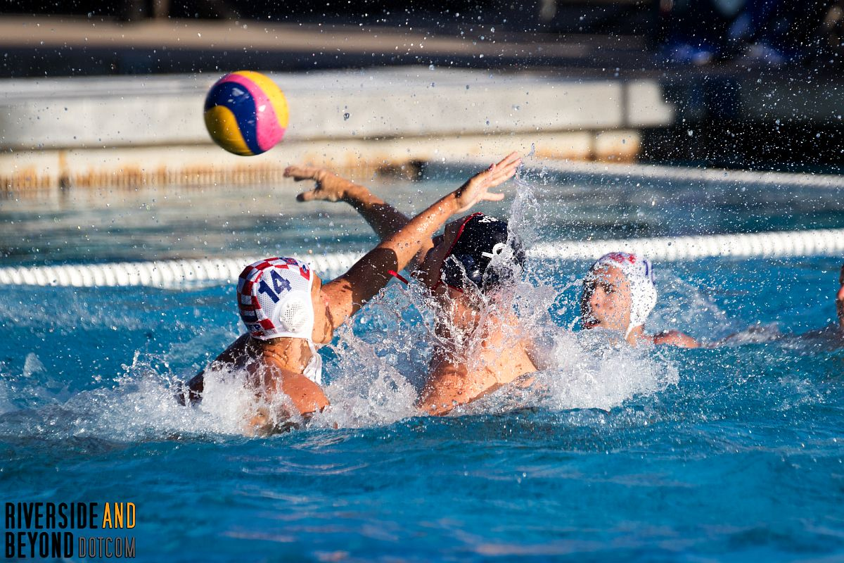 USA vs. Croatia - Men's Water Polo - Riverside, CA 06/09/17