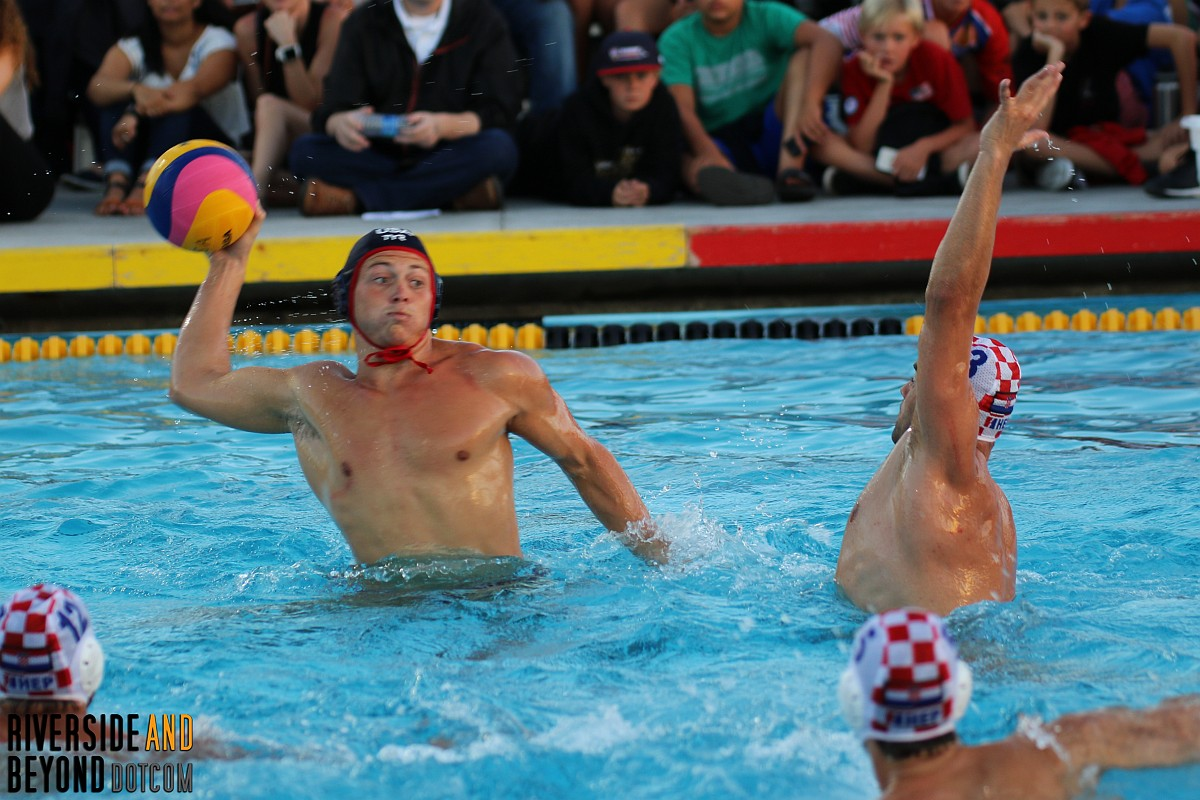 USA vs. Croatia - Men's Water Polo - Long Beach, CA 06/14/17