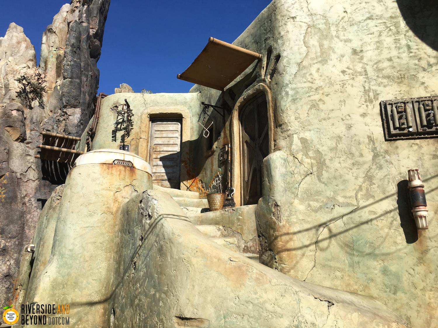 Star Wars land at Disneyland.